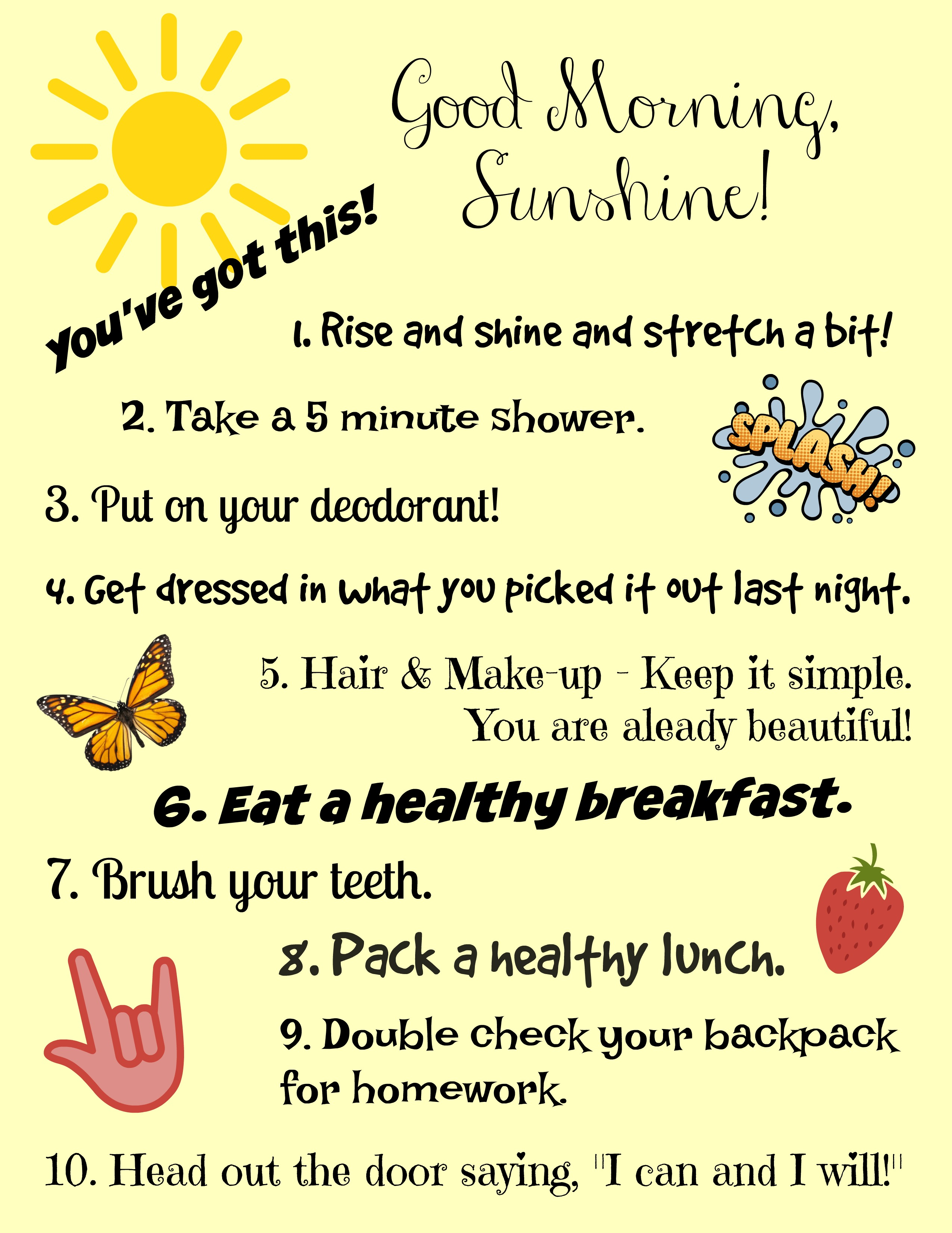 Get Your Day Off To A Great Start A Morning Routine For