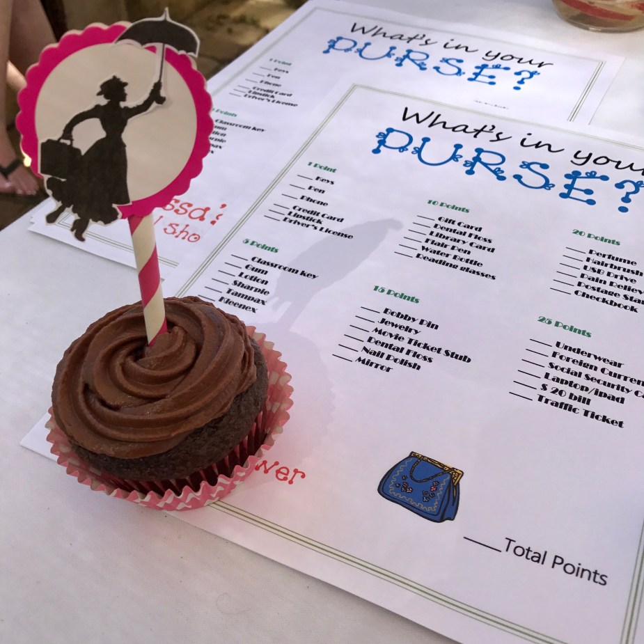 A Mary Poppins Bridal Shower Party