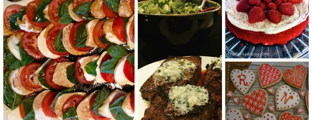 Five Valentine Dinner Menus – Something for Everyone!