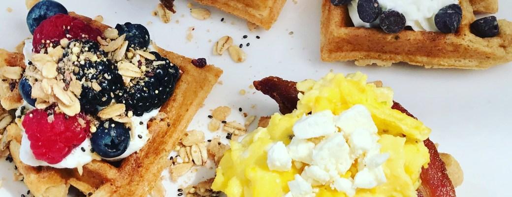 An Easy Waffle Bar Spread