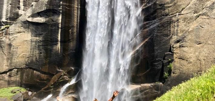 Hiking Vernal Falls in Yosemite