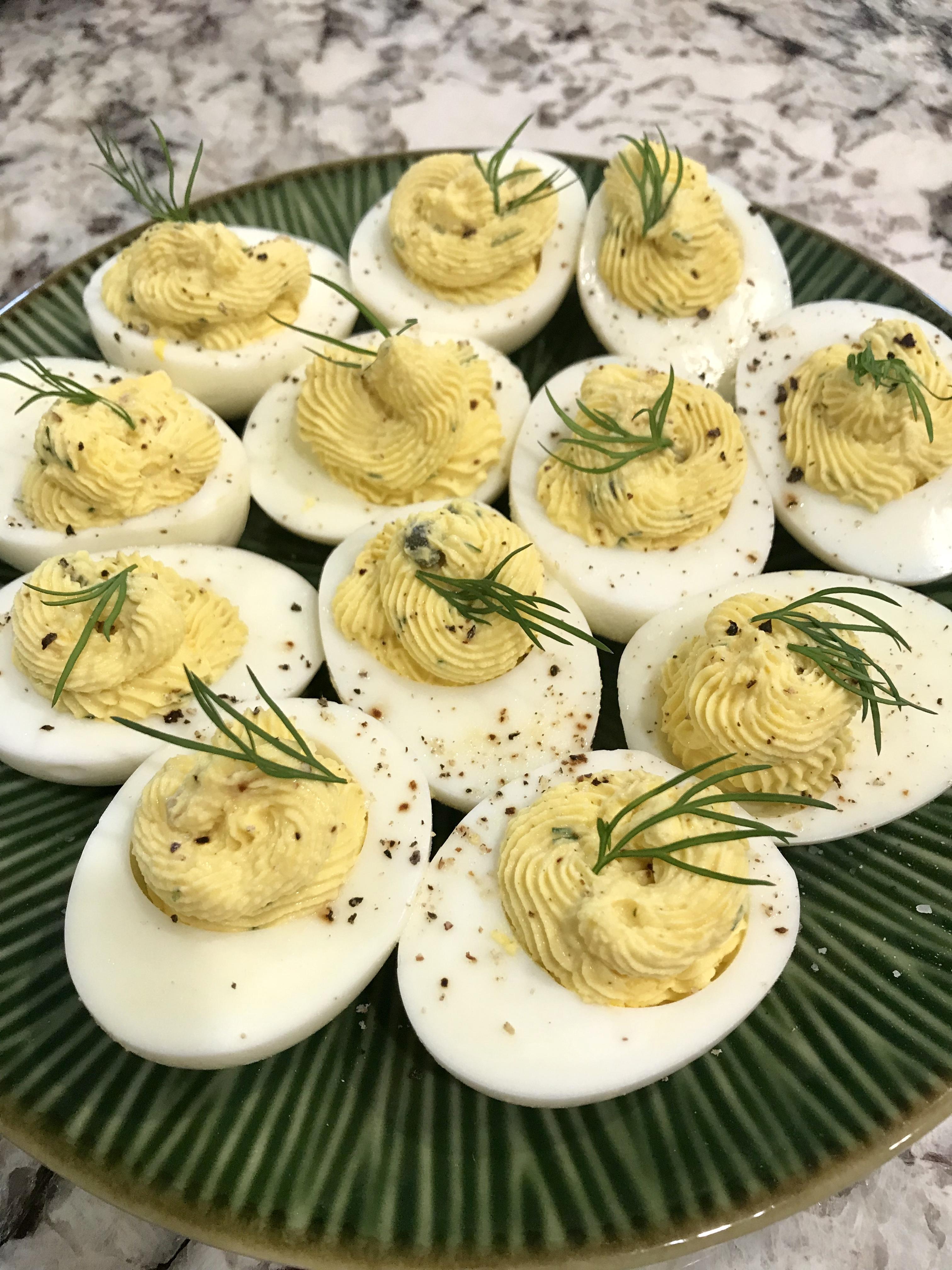 Delicious Deviled Eggs WW Freestyle Recipe
