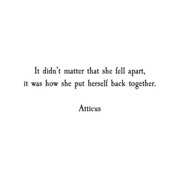 It didnt matter