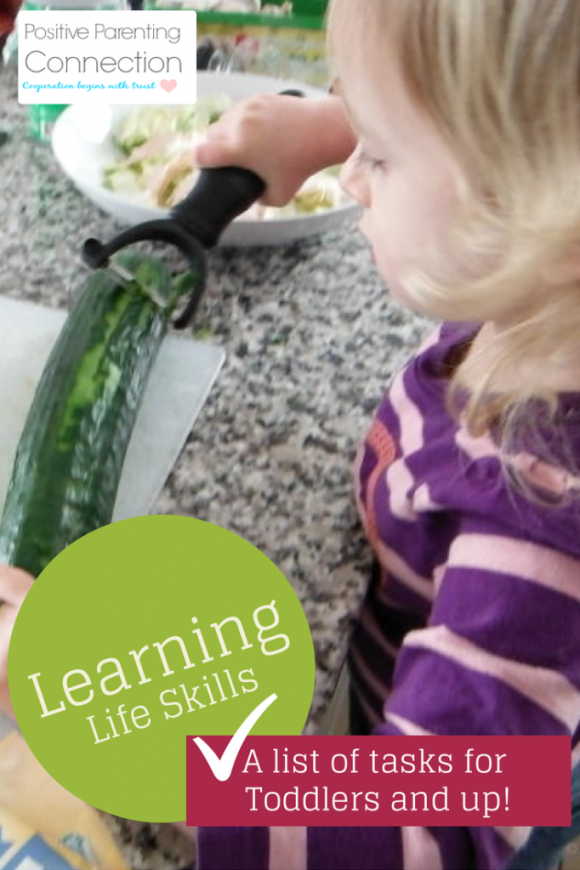 teaching toddler life skills