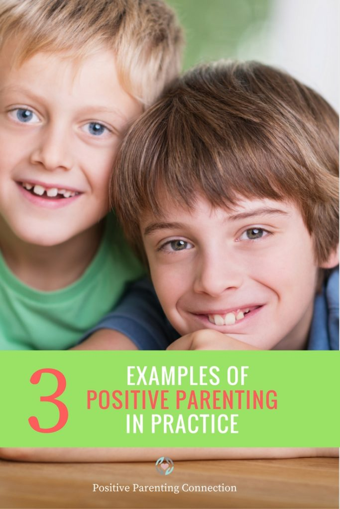 positive parenting examples