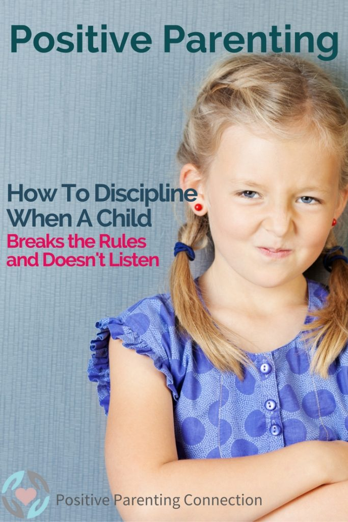 positive discipline for how to discipline a child