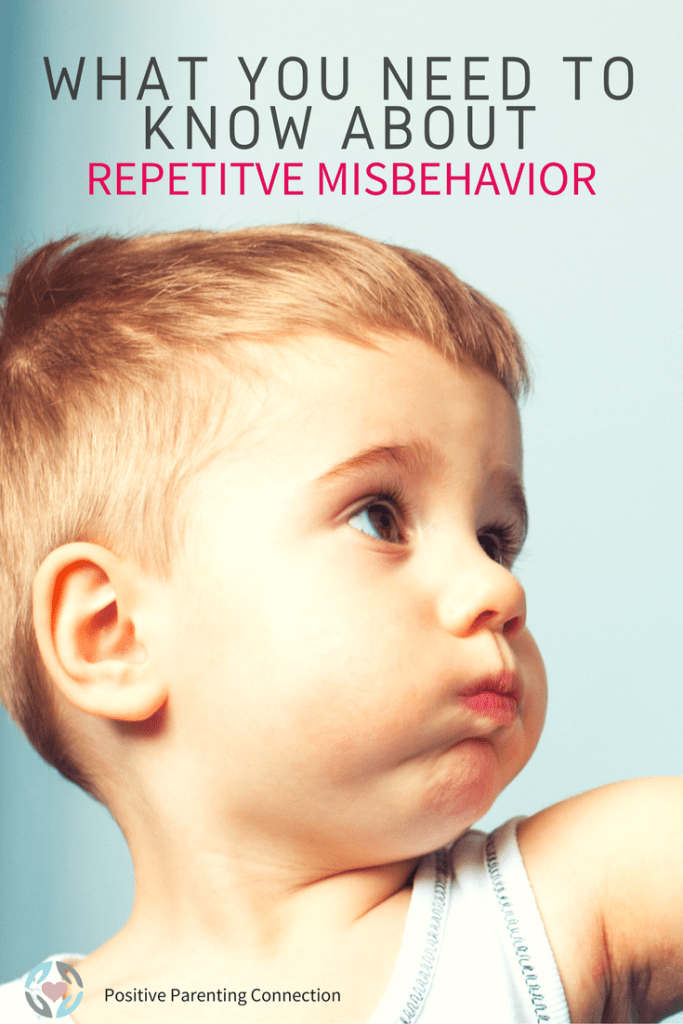 repetitive misbehavior