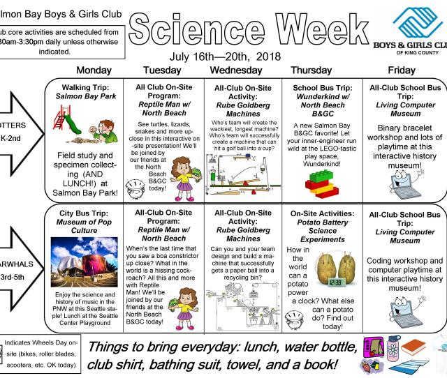 Were Just Mad About All The Fun Well Be Having During Science Week This Week Well Be Doing Tons Of Stuff Both Off Site As Well As Right Here At The
