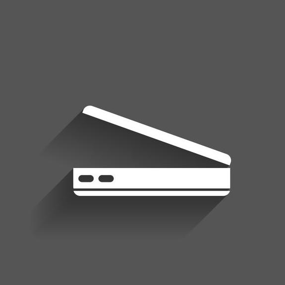 Open laptop PC