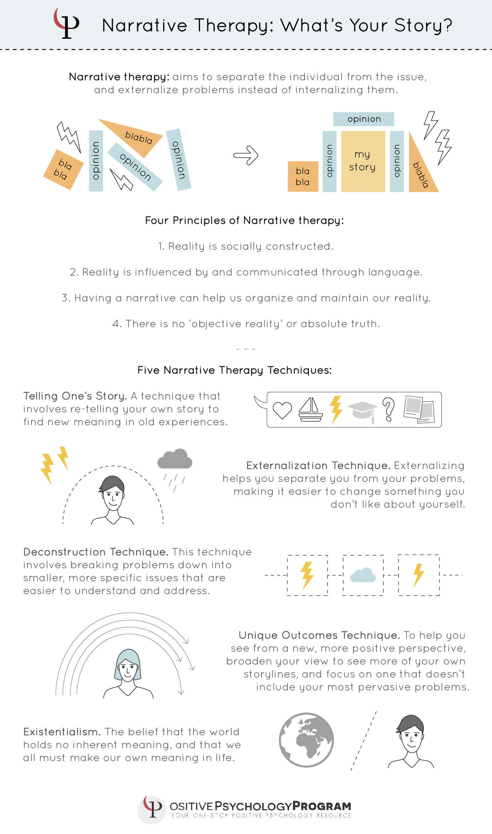 19 Narrative Therapy Techniques Interventions