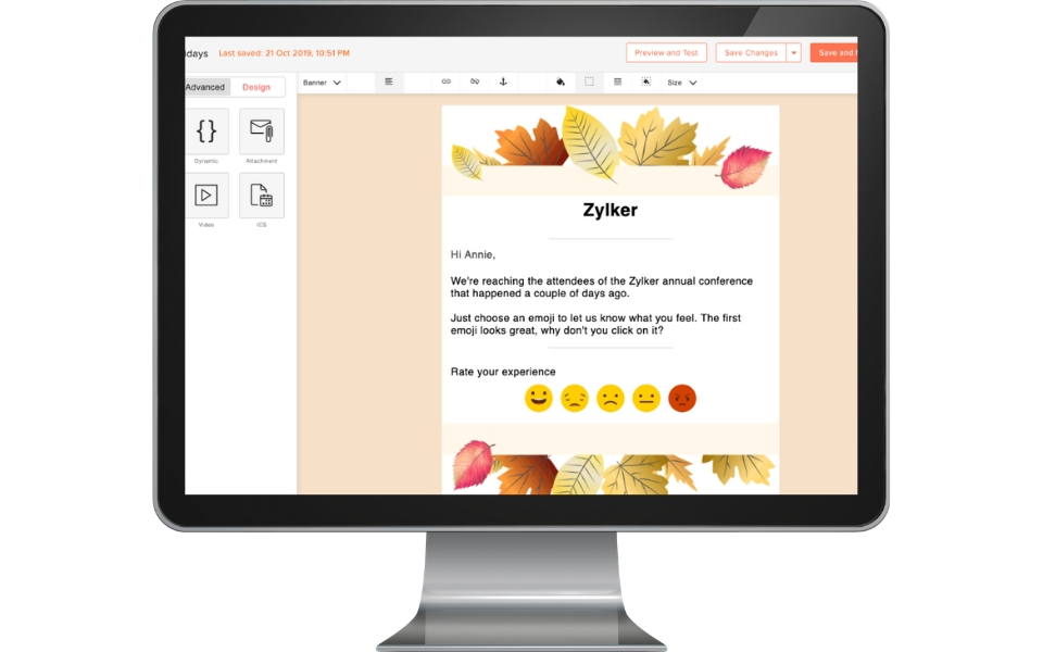 Pre-designed and customizable templates