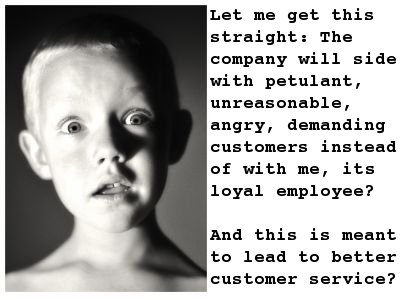 Top 5 Reasons Why The Customer Is Always Right Is Wrong The