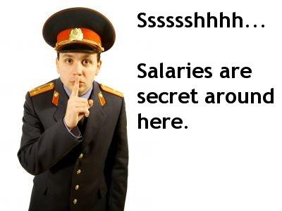 Secret salaries