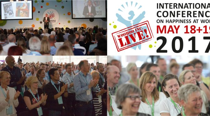 Watch the 5 best speeches ever from our conferences on happiness at work