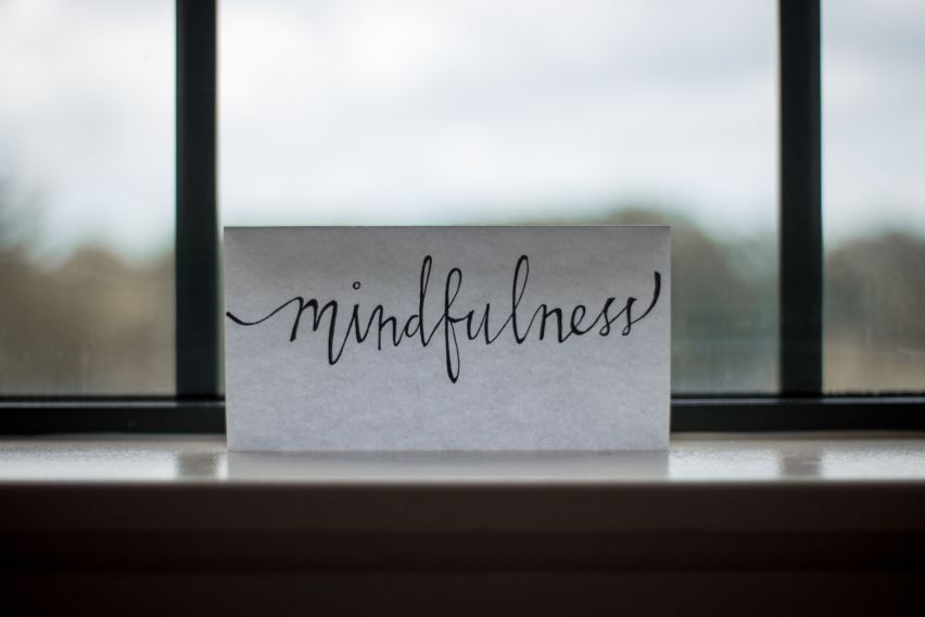 Mindfulness is the key