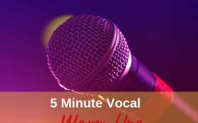 5 Minutes Vocal Warm Ups – Improve Your Voice Instantly