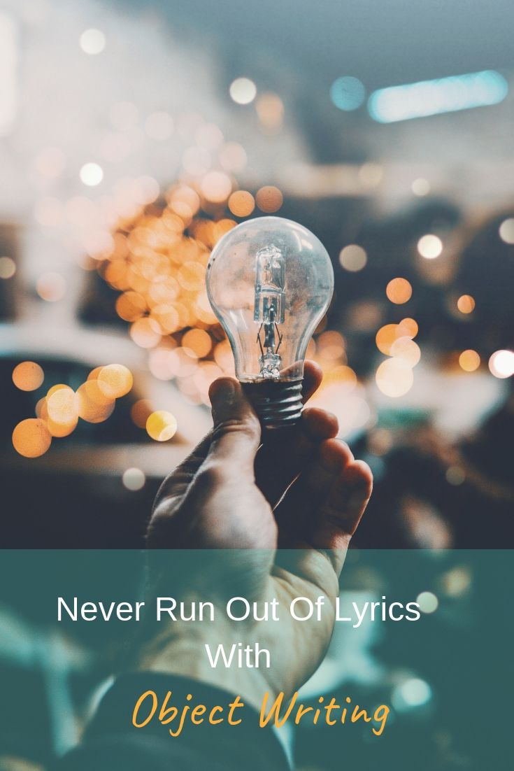 Object Writing Lyrics