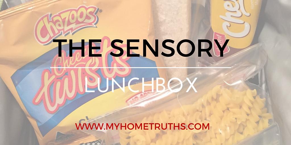 My son's sensory lunchbox