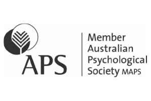 Registered Australian Psychologists with the Australian Psychological Society (APS) - Logo