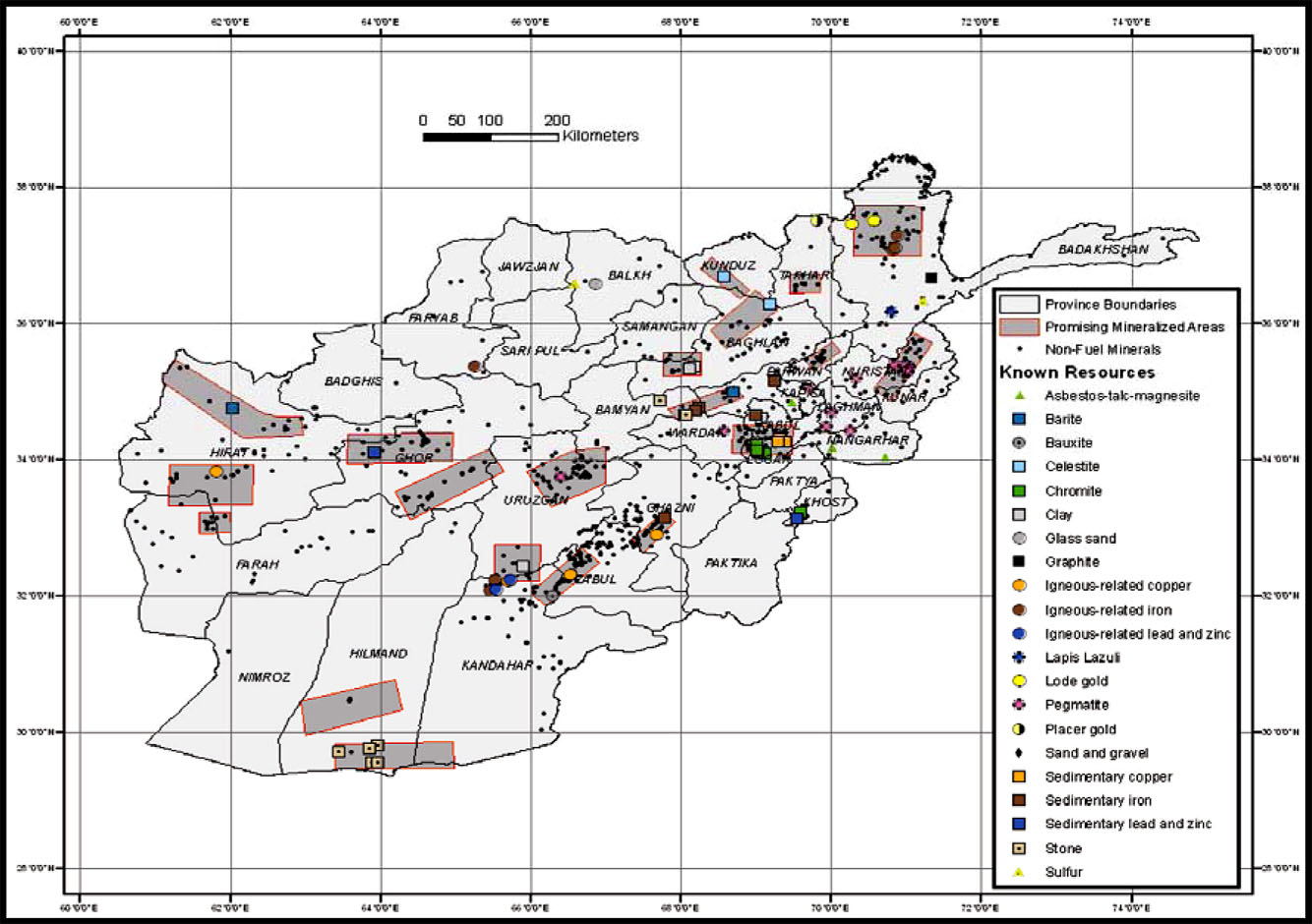 Maps Of Afghanistan Demographics Violence And Economics