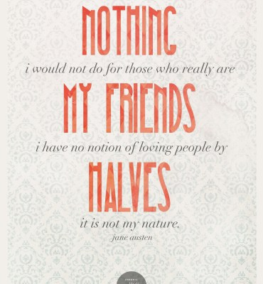 #24: Loving People by Halves - Jane Austen