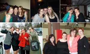friends at 25 and 30, in good times and bad