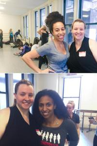 me meeting chloe and maud arnold of the syncopated ladies