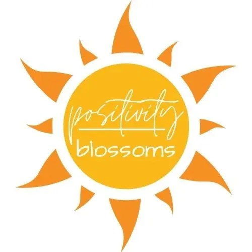 about positivity blossoms logo image