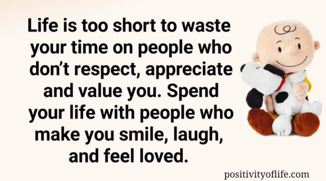 Be with the right people
