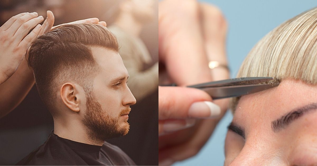 ce salon de coiffure pratique des
