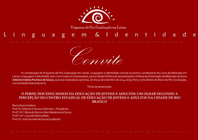 Convite Adelzita