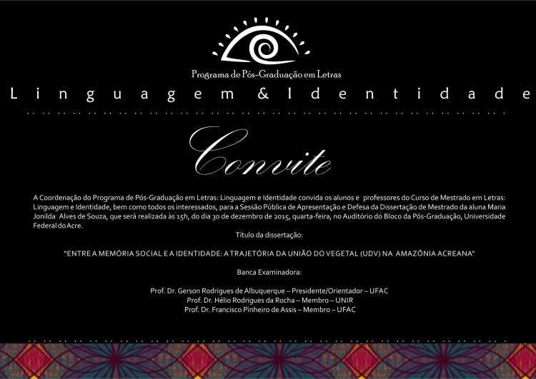 Convite Jonilda