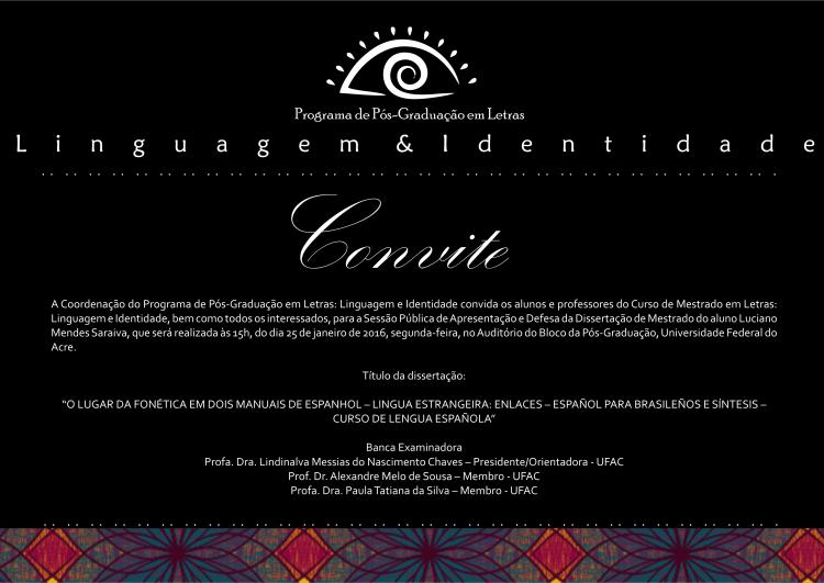 Convite Luciano