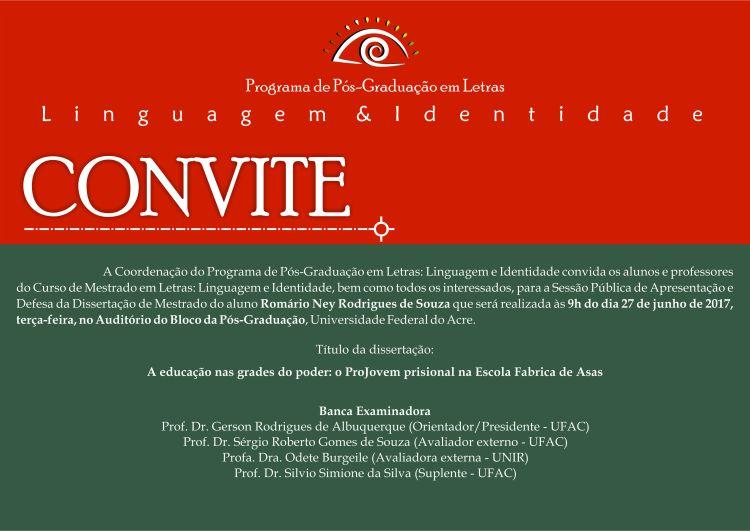 Convite Defesa
