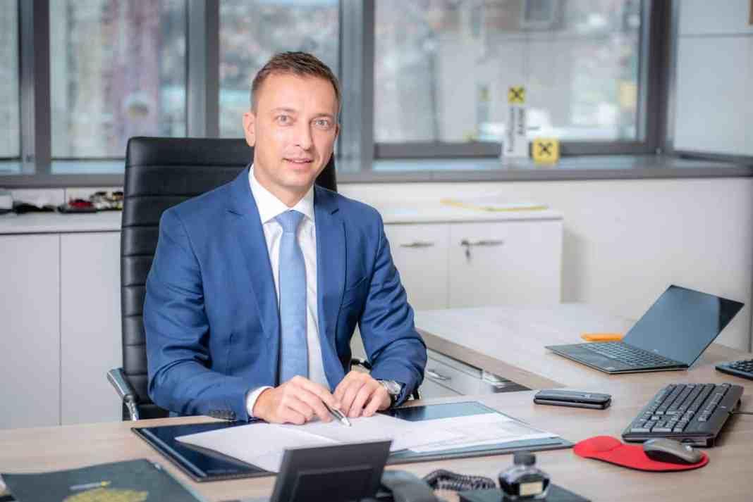 Karlheinz Dobnigg predsjednik Uprave Raiffeisen banke.