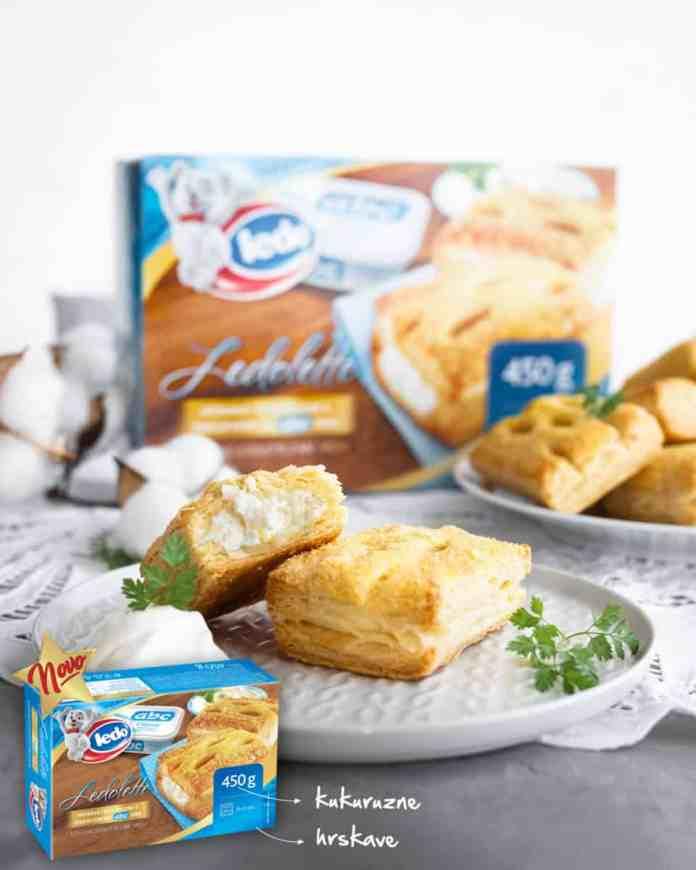 Ledo lansirao jedinstvene proizvode na tržištu – kukuruzne Ledolette s ABC sirom i Ledo savijaču s trostrukim punjenjem