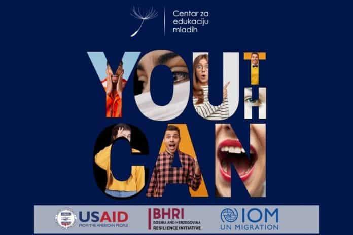 """Prijavi se i budi lider/ Program """"YOUth CAN"""" Centra za edukaciju mladih iz Travnika"""