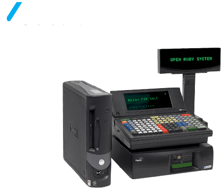 Verifone Ruby POS System for Convenience Store & Gas Station | Super