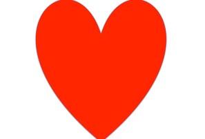 1 heart
