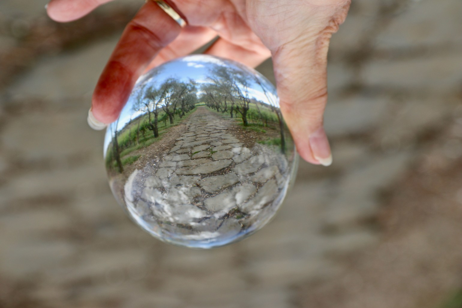 Roman Road - crystal Ball - 1