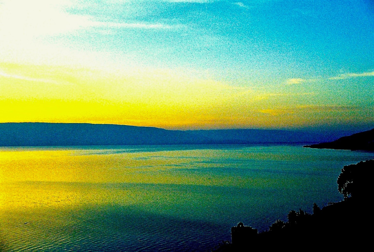 Sea of Galilee - 1