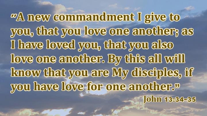 John 13-34