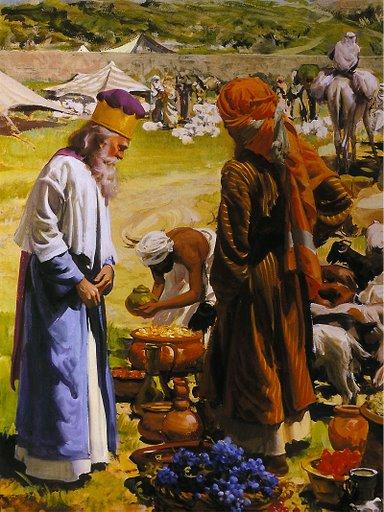 Abrahn And Melchizedek
