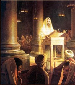 "Jesus Proclaims: ""Today this scripture is fulfilled"""
