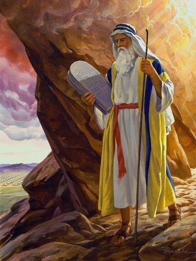 Moses and the Ten Comandments
