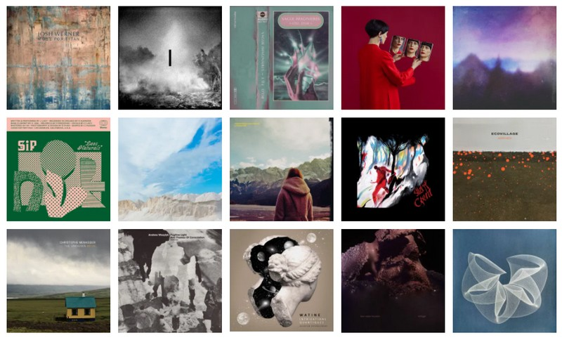 Top albums Ambient music, Modern classical, Electronica 2020