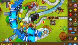 iPad Games – Bloons TD 5