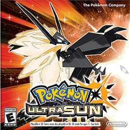 Pokemon Ultra Sun Box Art