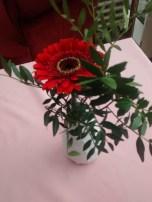 Blumen auf der Arbeit - Lichtblick