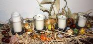 Herbstsammelsurium, alles selbst gesammelt. Irgendwie und irgendwo.